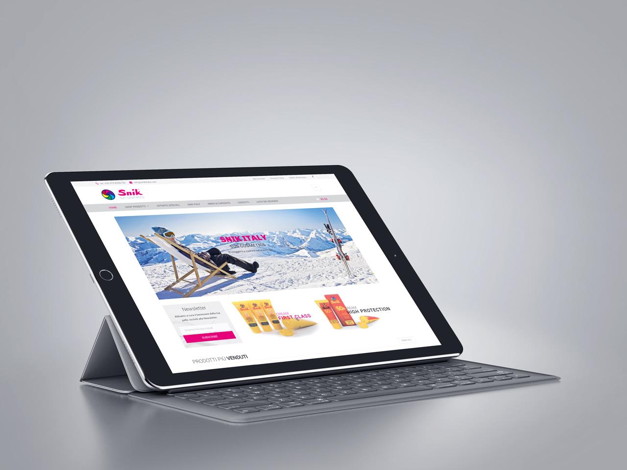 Snik Italy presenta il nuovo sito; finalmente on-line la piattaforma e-commerce